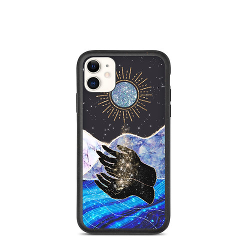 "Biodegradable phone case ""We Are A Way For The Universe To Know Itself"""