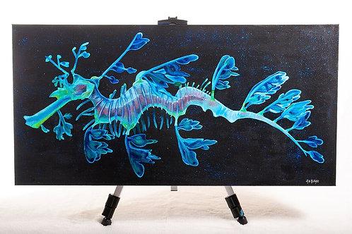 Beautiful endangered Seadragon painting