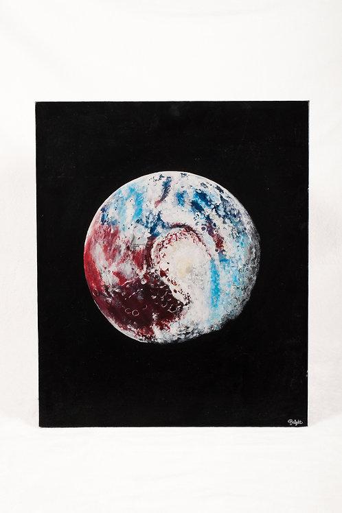 Pluto painting print