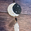 Thumbnail: Moon Phase Dreamcatcher Clay Sculpture with Obsidian