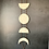 Thumbnail: Moon Phase Sculpture Wall Hanging