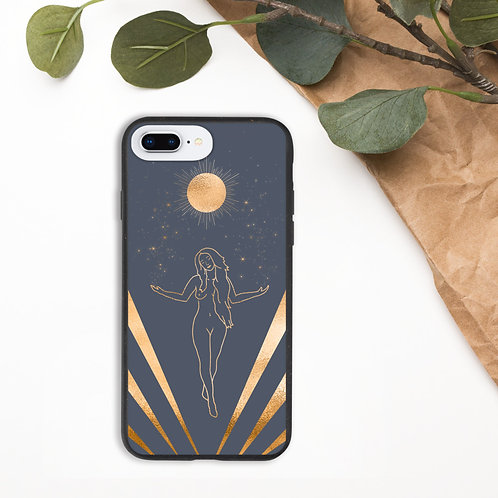 """Stand in Your Power"" Biodegradable phone case"