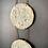 Thumbnail: Gold & Grey Moon Phase Sculpture Wall Hanging