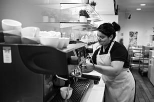 Helena, PwC Café