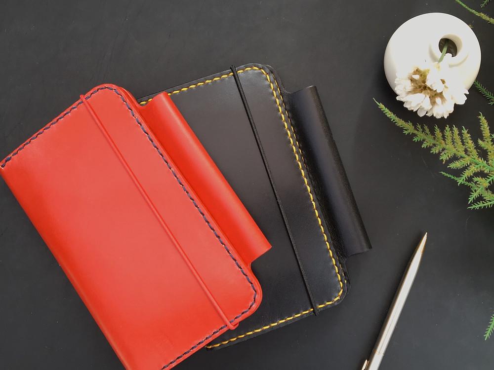 Morgan + Wells Lascelles leather Moleskine journal