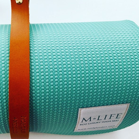 Namaste yoga and pilates mat strap