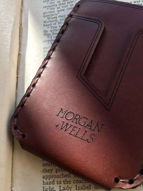 Morgan + Wells - Ernest leather wallet front
