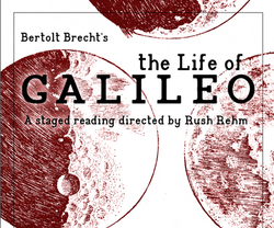 Life of Galileo poster