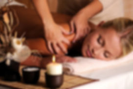 Image of woman relaxing during massage
