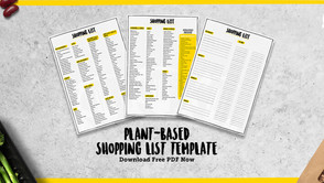 The Ultimate Guide to your plant-based essentials & shopping list