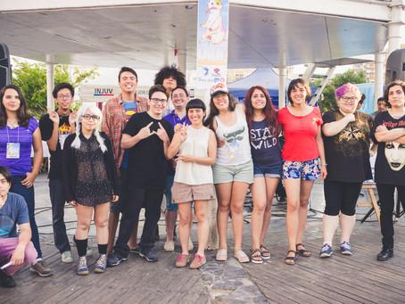 Evento BLUR: Los dibujantes se apoderan de Iquique