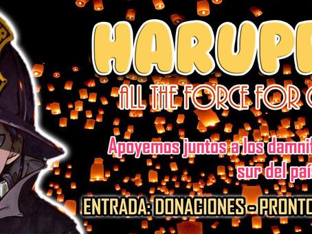 HARUPPU 2.0: Toda la fuerza para Chile