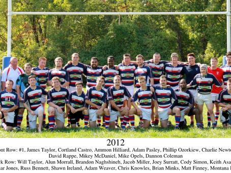 Newsletter #22 - Memory Lane - 2012 Squad