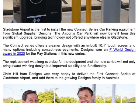 Australian first for Airport Car Park and it's here in Gladstone