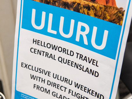 Gladstone to Uluru hosted by Helloworld Travel