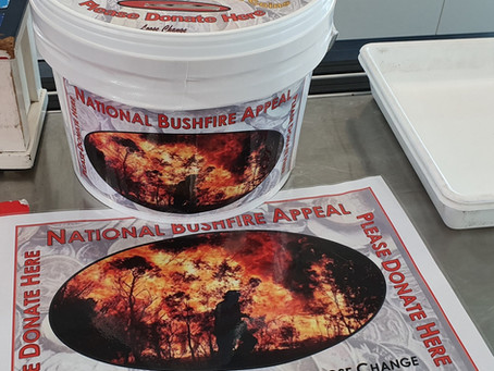 National Bushfire Appeal - $1,255 Donated to Disaster Relief and Recovery
