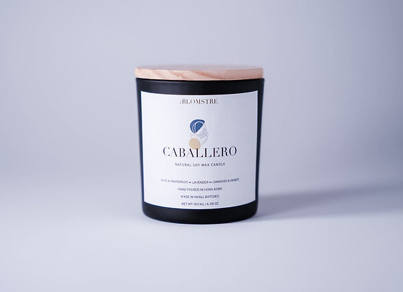 Soy Wax Candle 180ml: CABALLERO
