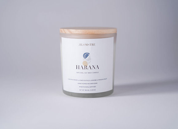 Soy Wax Candle 180ml: HARANA