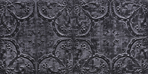 Versailles Fonce Gris Noir