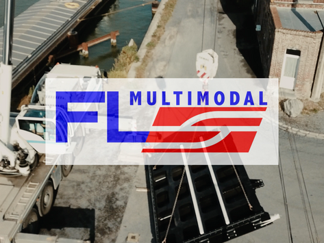 FL MULTIMODAL a organisé le transport de 4 vantaux...