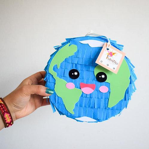 Mini Welt Piñata / World Pinata /