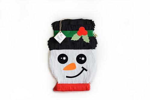 Schneemann Kopf Piñata