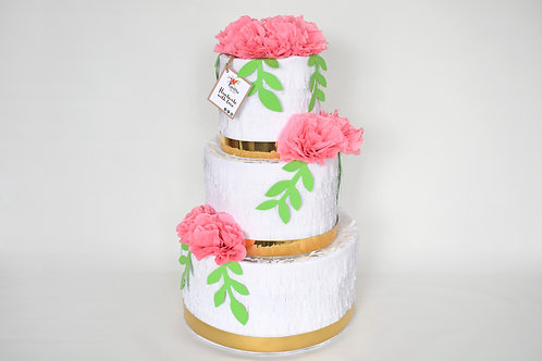 "Wedding Cake-Piñata ""Rosé"""