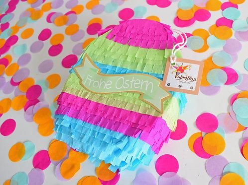 Mini Osterei Piñata  pink/blau/grün / Oster Pinata