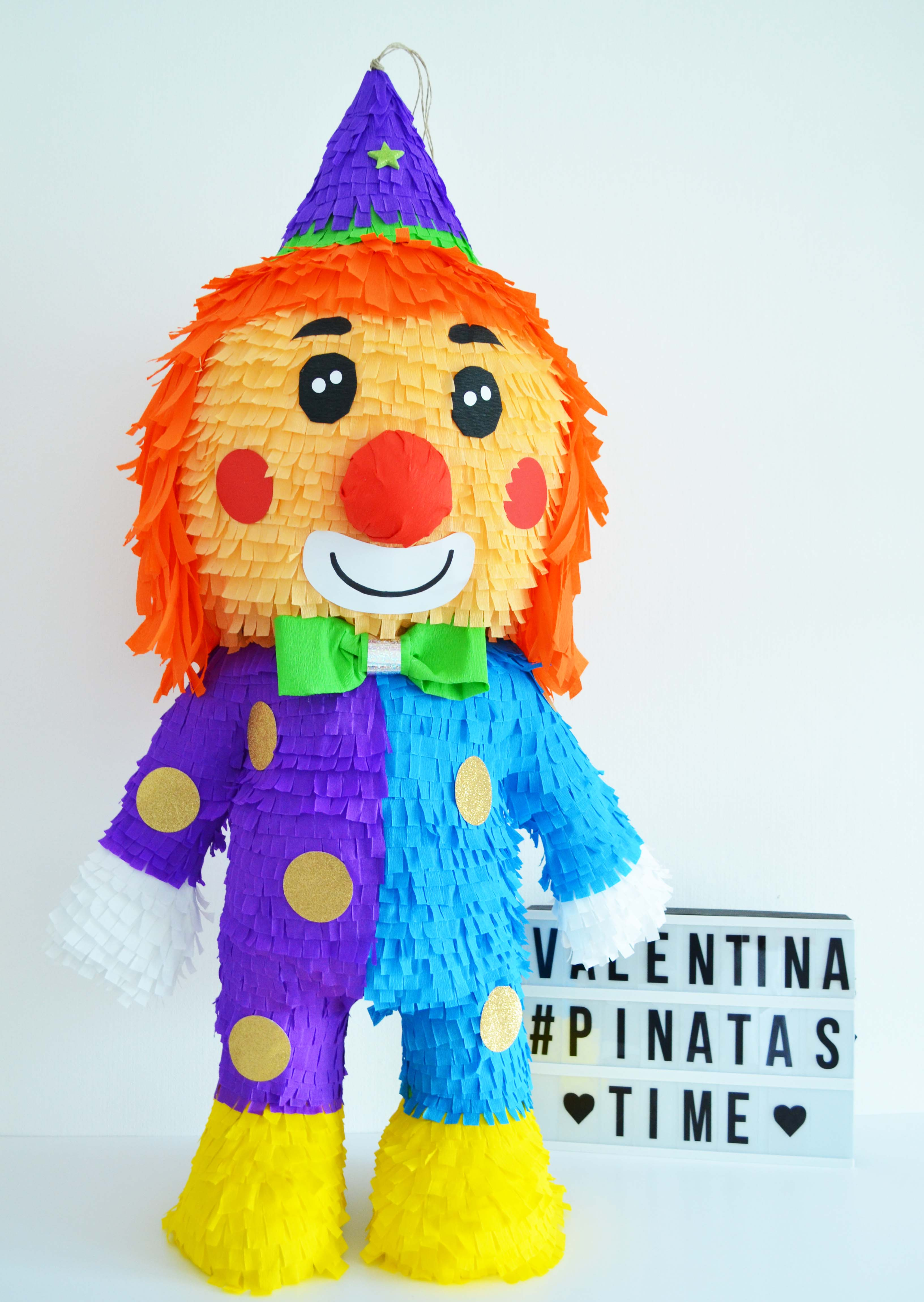 clown-pinata