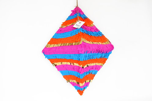 "Piñata ""Raute-Diamant"" in Boho-Chic Style"