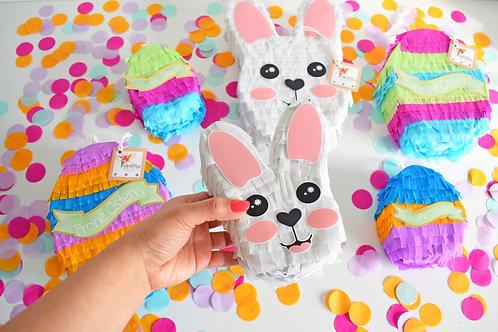 Ultra Mini Oster-Set Piñata / Hase Pinata / Osterhase Osterei Pinata