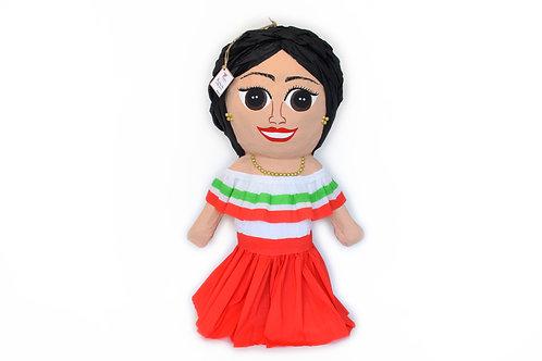 Mexican Girl Maria Piñata