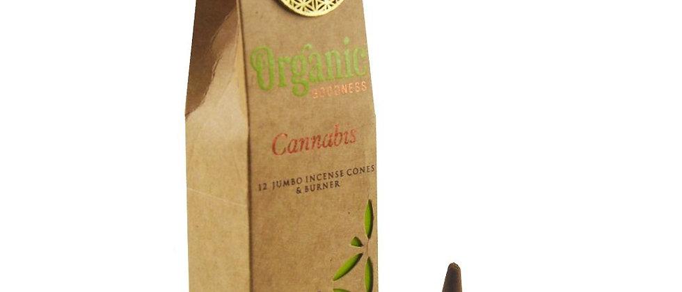 Cannabis Bio Masala Encens Cônes - Boîte de 15 g