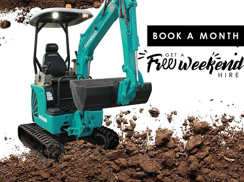 Book a Month Hire Now