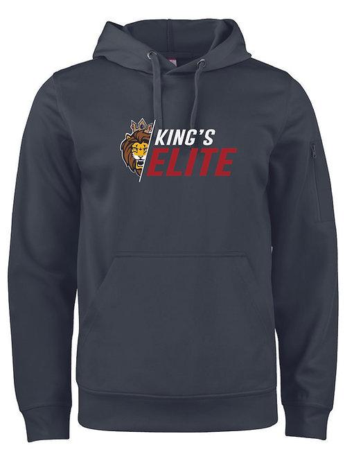 King's Elite Goaltending Slash Logo Hoodie