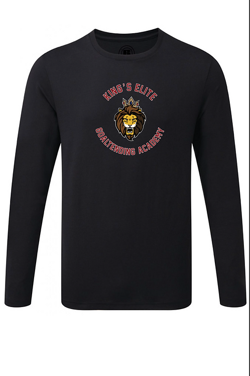 Long Sleeve Academy Tee (Large Logo)