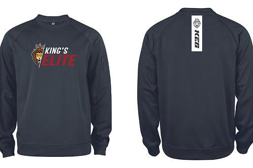 King's Elite Goaltending Slash Logo Sweater
