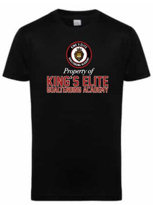 King's Elite Goaltending Academy Gym Tee