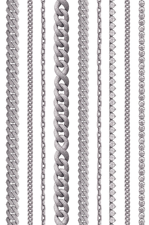 WHITE GOLD LINES