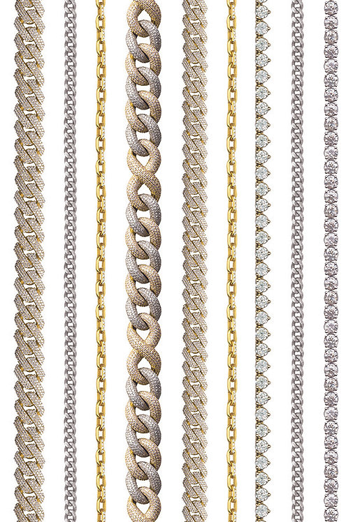 YELLOW GOLD LINES