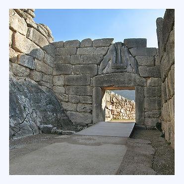 The Lion Gate, Mycenae