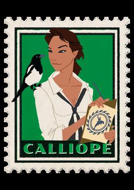 Calliope - The Muse of Literature and Architecture