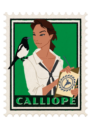 Calliope - The Muse of Literature and Architecture