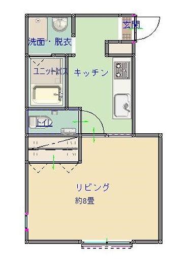 村上市アパート