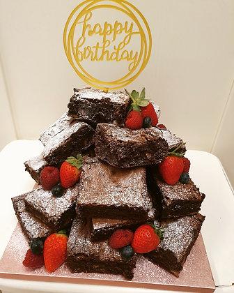 Birthday Brownie Stack!