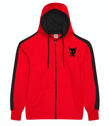 Wolf Brand Zip Hoodie