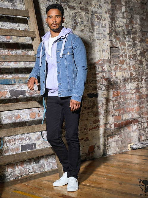 Wolf Brand Denim Straight Jeans