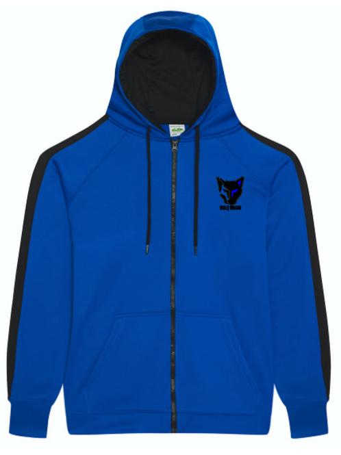 WOLFBRAND Zip Hoodie (Blue/BLK)