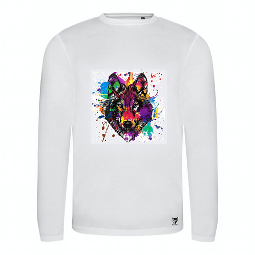 SPLASH! Printed Long Sleeve T-Shirt