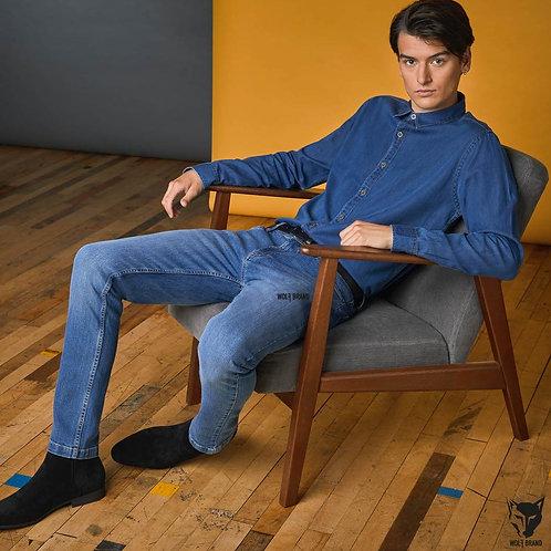 Wolf Brand Denim Slim Jeans